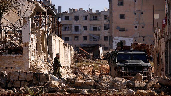 Siria: las fuerzas del régimen se abren camino hacia el aeropuerto de Alepo