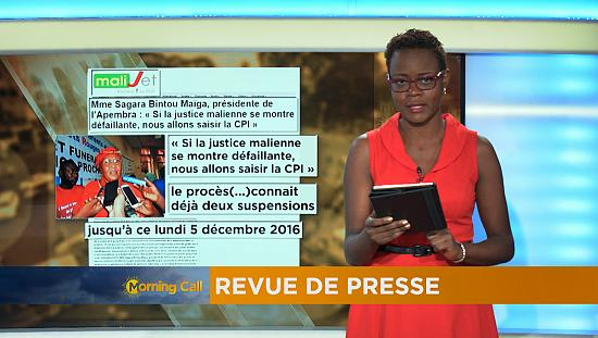 Press Review of December 5, 2016 [The Morning Call]