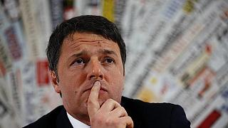 Le Premier ministre italien Matteo Renzi démissionne