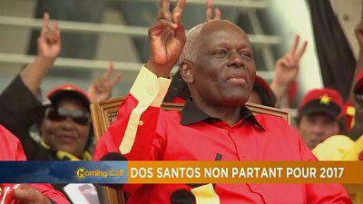 Angola: Dos Santos non partant pour 2017