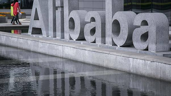 Image: Tthe headquarters of Alibaba in Hangzhou, China