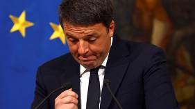 How has the world reacted the Italy's 'No' vote?