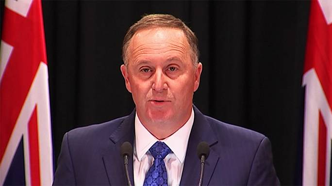 New Zealand: Outgoing PM John Key denies wife gave him ultimatum to resign
