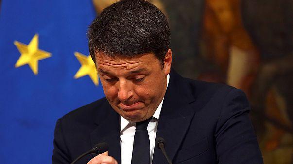 الإيطاليون ينتظرون التغيير بعد استقالة رينزي