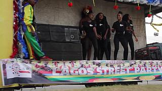 Nigeria: People Celebrate 'Lagos Street Party' [no comment]