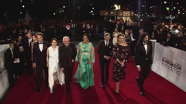 Tappeto rosso a Marrakech per il festival internazionale del cinema