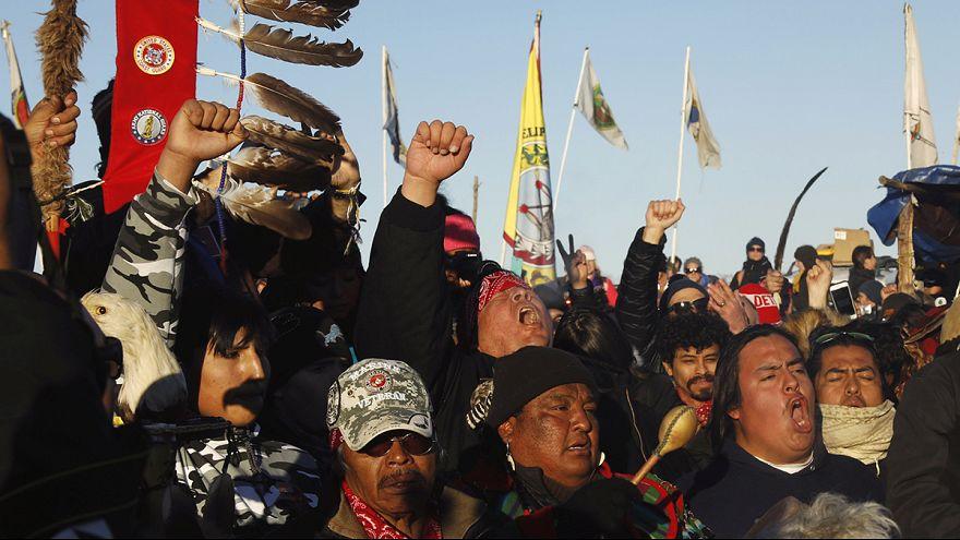 Kuzey Dakota'da yerliler kazandı