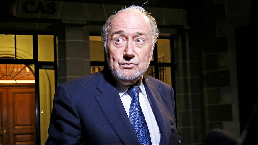 Football : le Tribunal arbitral du sport confirme la supension de six ans de Sepp Blatter