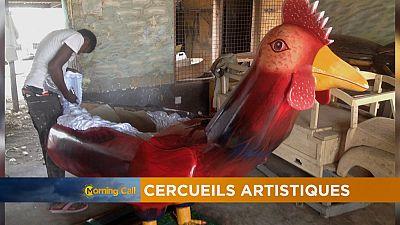 Les cercueils artistiques du Ghana