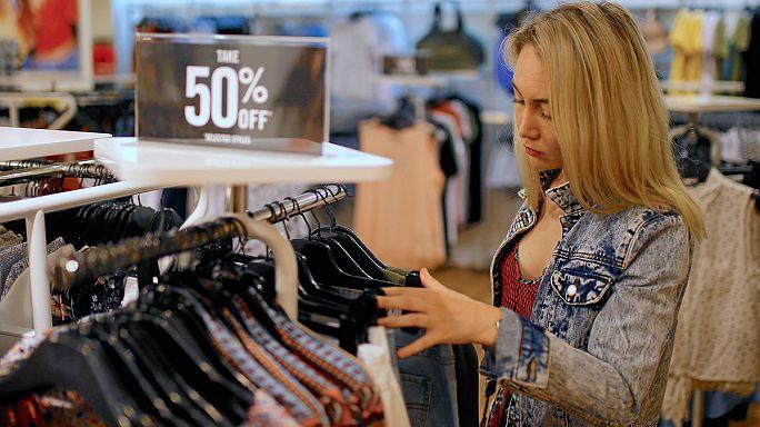 Резкий подъем розничных продаж в странах еврозоны