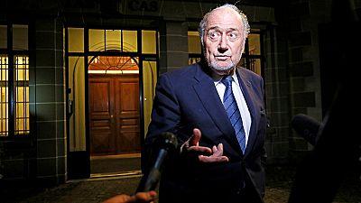Le tribunal arbitral du sport confirme la sanction de Sepp Blatter