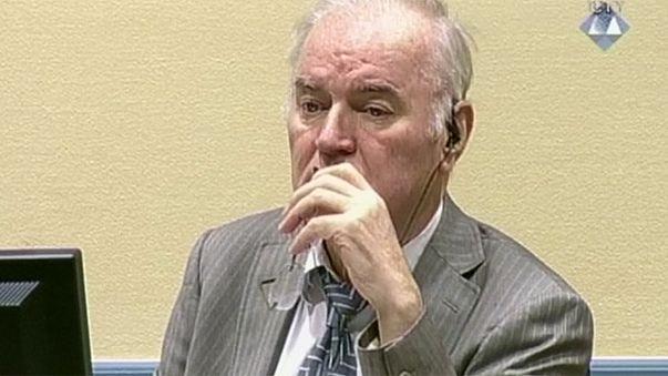 Processo de Mladic entra nas alegações finais