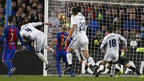 Real Madrid in La Liga driving seat after El Clasico win