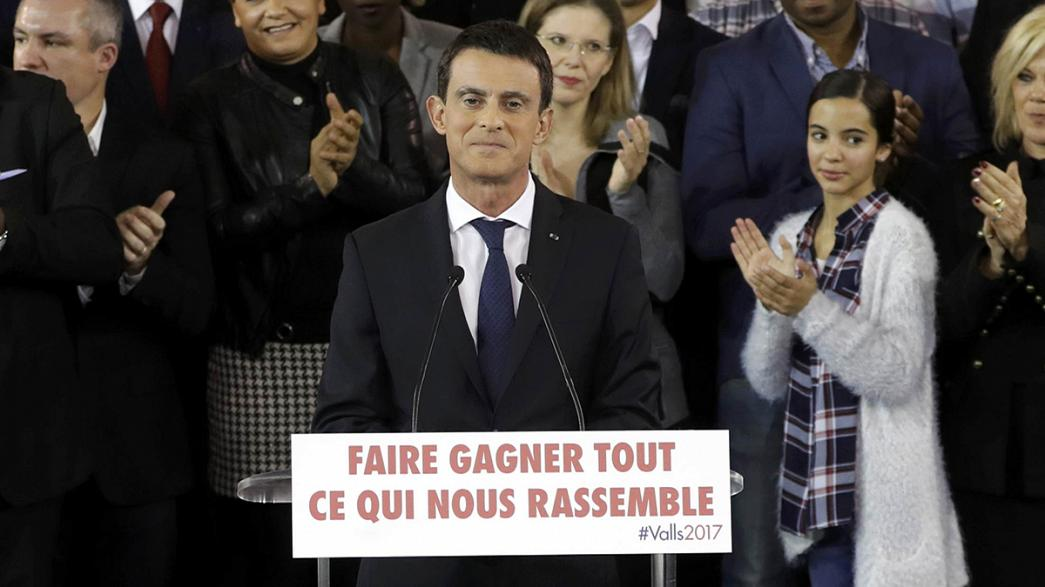 French PM Manuel Valls declares bid for presidency