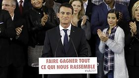 French Prime Minister Manuel Valls resigns from government formally announcing his candidacy for the 2017 presidential election