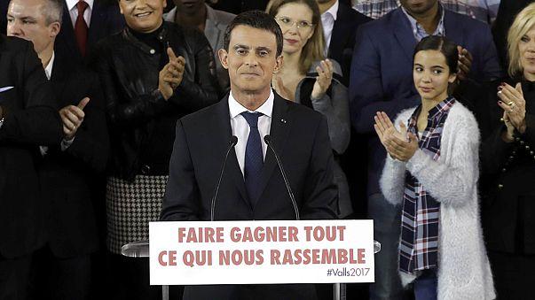Valls anuncia su candidatura a la presidencia de Francia