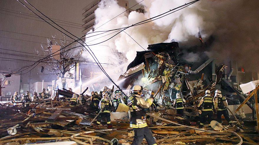 Image: Sapporo bar explosion