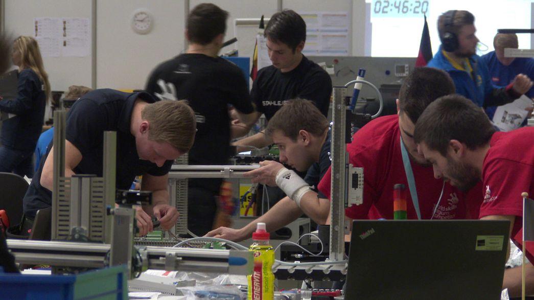 Quase 500 jovens mostraram trabalho no EuroSkills
