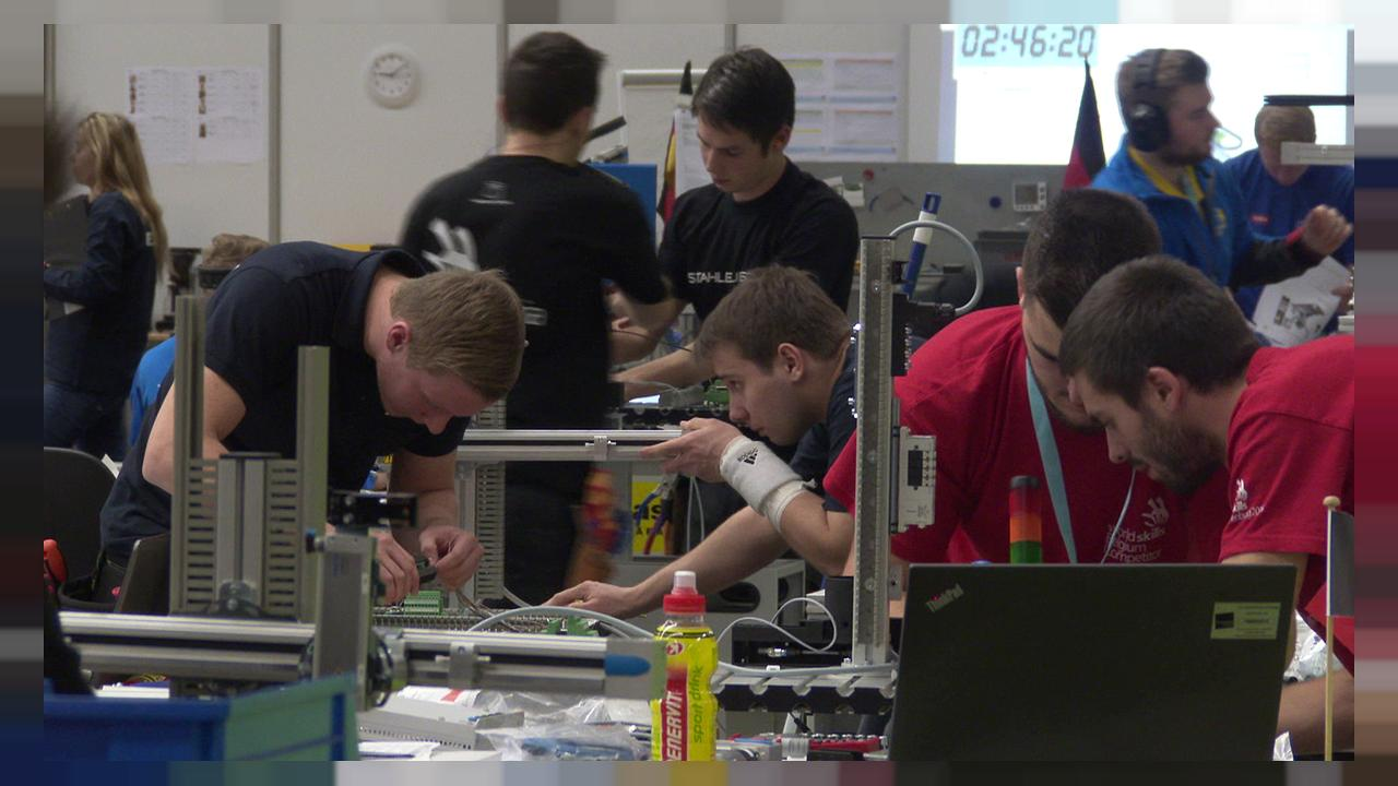 EuroSkills 2016: battle of young craftspeople
