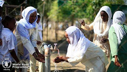 Resumption of school feeding in Sudanese schools puts smiles on faces