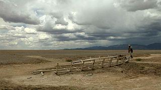 Seca cada vez mais dramática na Bolívia