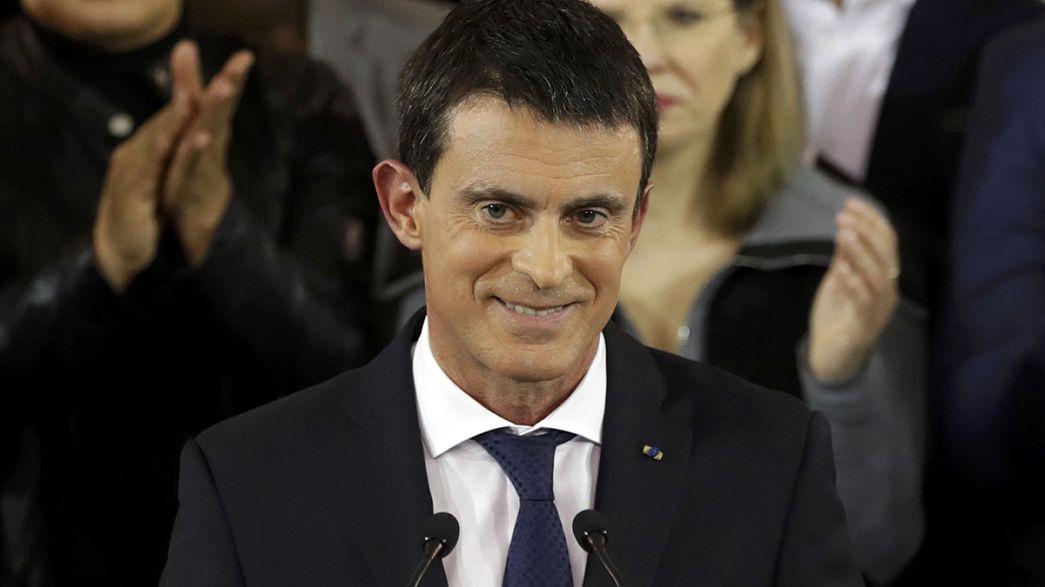 França: As reações à candidatura de Valls