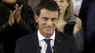 Valls'in adaylığına tepkiler