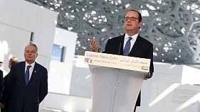 François Hollande lance un message de tolérance depuis le Louvre d'Abou Dhabi