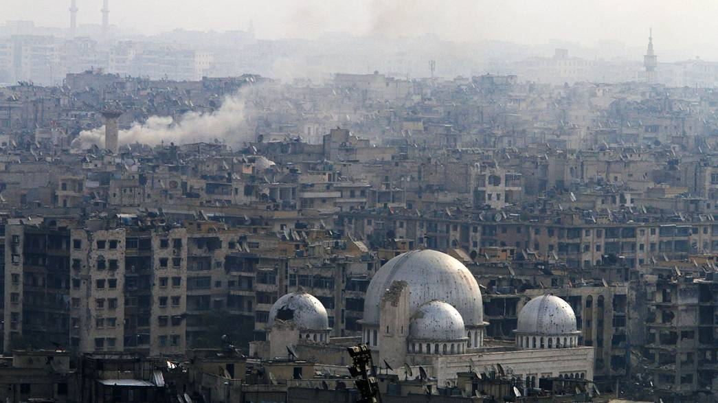 Russia and China block UN call for Aleppo truce