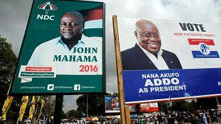 Dernière ligne droite pour les présidentielles au Ghana