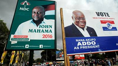 Ghana Elections 2016: Campaigns hit home stretch