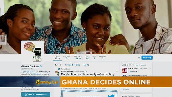 Ghana talks election online, votes offline [Hi-Tech]