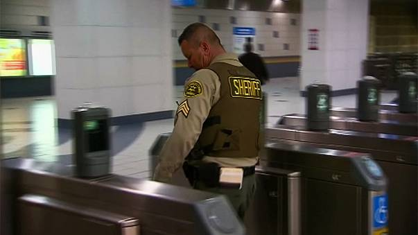 Terror threat sparks tightened security on Los Angeles metro system