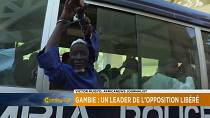 Gambia jailed opposition leader released [The Morning Call]