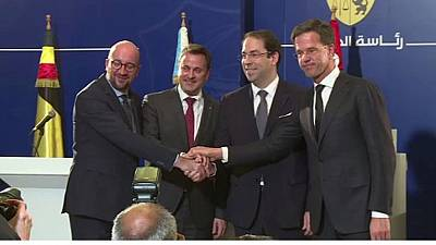 Le Benelux apporte aussi son soutien à la Tunisie
