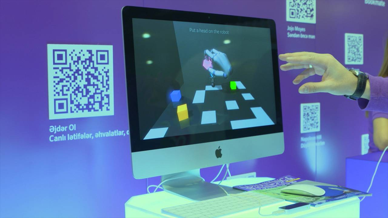 The future of technology on show at the Bakutel exhibition in the capital of Azerbaijan