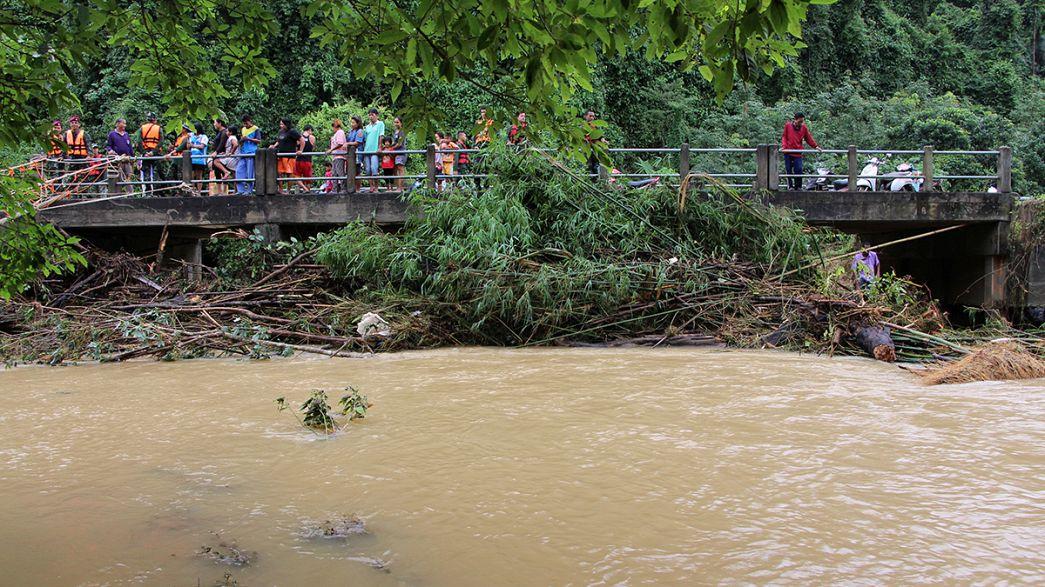 Inondations dans le sud de la Thaïlande