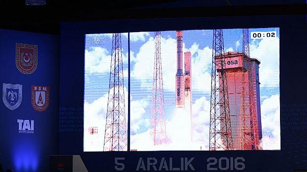 Türkiye'nin askeri uydusu Göktürk 1 fırlatıldı