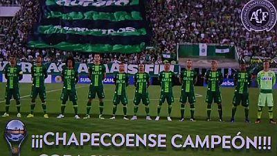 La Conmebol offre la Copa Sudamericana à Chapecoense