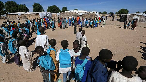 منظمة اليونيسيف تقوم بحملة من أجل دعم تعليم الأطفال في البلدان التي تعاني من الحروب