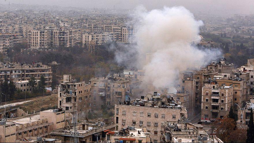 Συριά: Συνεχίζονται οι μάχες στο ανατολικό Χαλέπι