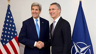 Az EU és a NATO szorosabb együttműködését hangsúlyozták Kerry búcsúlátogatásán