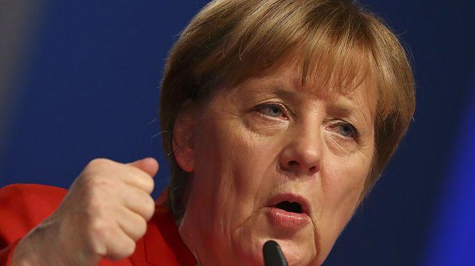 German Chancellor Merkel calls for a ban on the burka