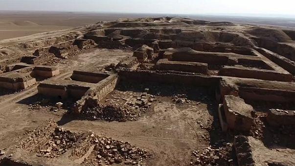 Der IS-Vandalismus: Antikenstadt Nimrud fast komplett zerstört