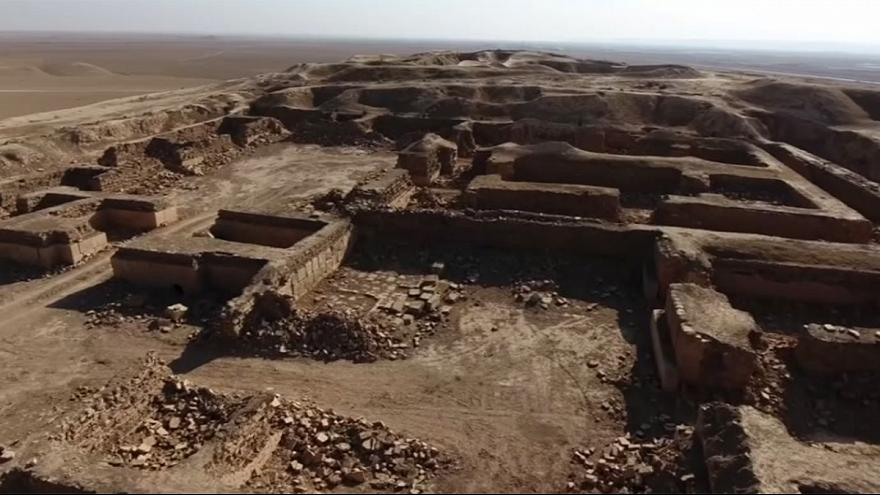 Nimrud: drone footage shows ISIL destruction of Iraqi ancient city