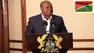 Ghana shall pass this test with distinction - President Mahama addresses nation