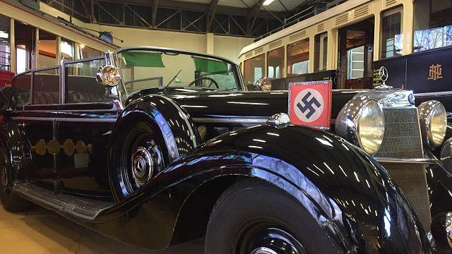 [Vidéo 360°] Montez dans une Mercedes de Hitler !