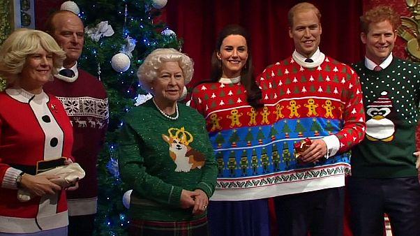Μαντάμ Τισό: Η Βασιλική Οικογένεια στο πνεύμα των Χριστουγέννων