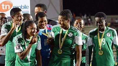 Can féminine 2016 : les Nigérianes championnes d'Afrique bloquent le trophée pour réclamer leurs primes