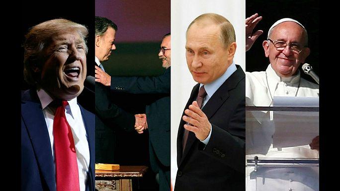 Wer wird euronews-Person des Jahres 2016?